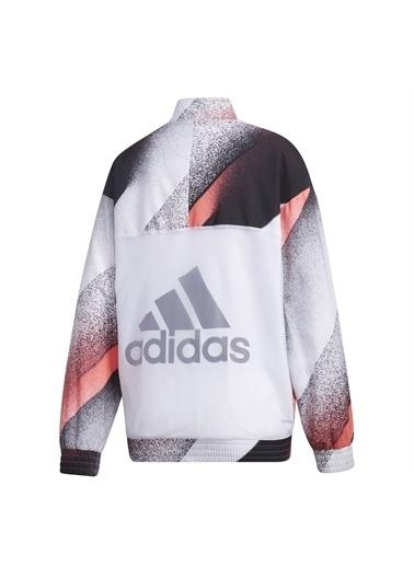 adidas Adidas Kadın Günlük Giyim Eşofman Üstü W Uc Wv Tt Gd4554 Beyaz